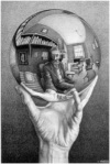 Source: https://en.wikipedia.org/wiki/Hand_with_Reflecting_Sphere