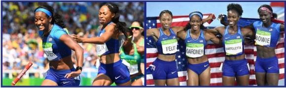 Rio 2016 4x100 Gold